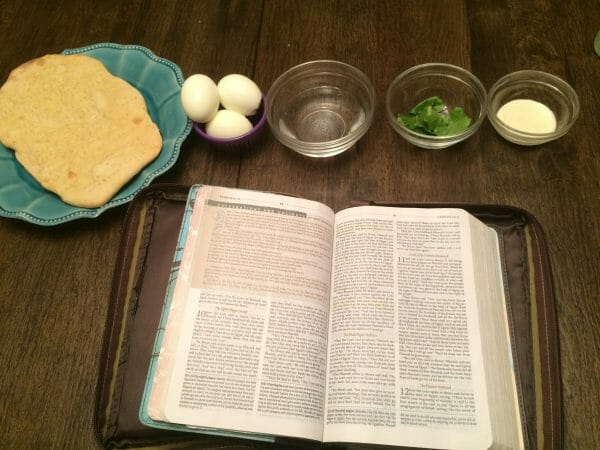 6 Days of Easter Activities Without the Rabbit- Last Supper