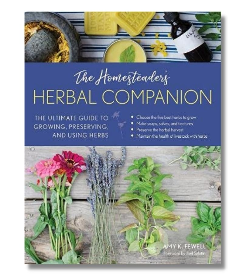Image of The Homesteaders' Herbal Companion Book
