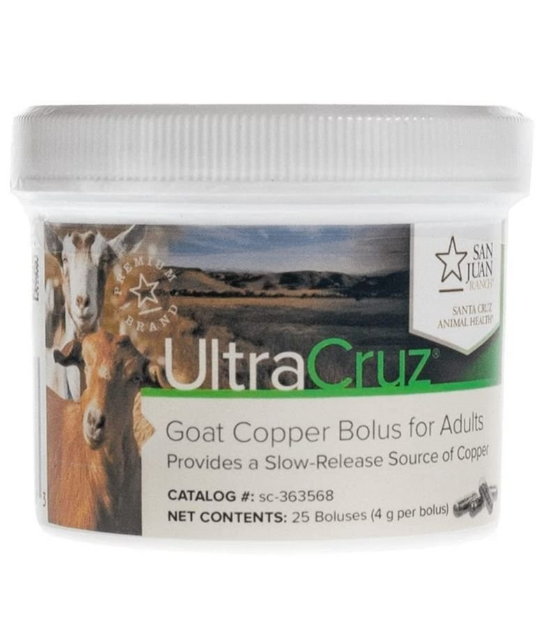 UltraCruz Copper Bolus Container | What You Need to Know About Giving Copper Bolus | Mama on the Homestead