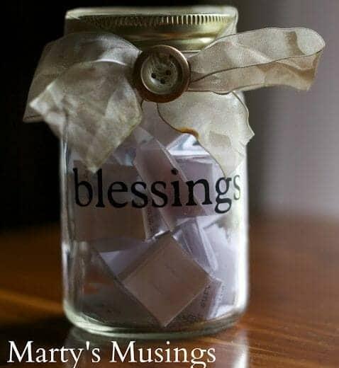 Mason Blessings Jar | 30+ of the Best Mason Jar Uses for Your Home | Faithful Farmwife