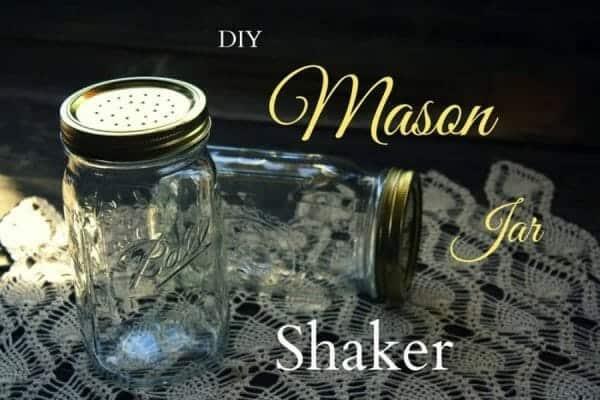 DIY Mason Jar Salt Shaker | 30+ of the Best Mason Jar Uses for Your Home | Faithful Farmwife