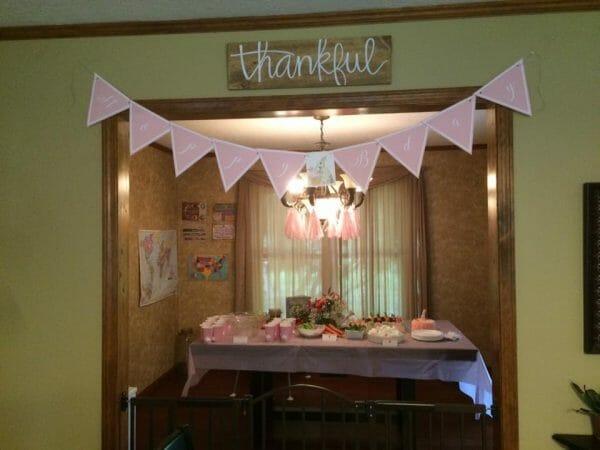 Bunny Birthday Party Banner | Faithful Farmwife