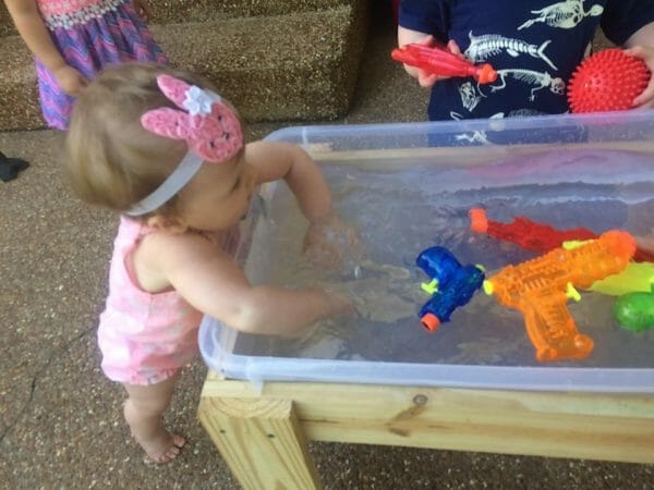 DIY Water Table | Faithful Farmwife
