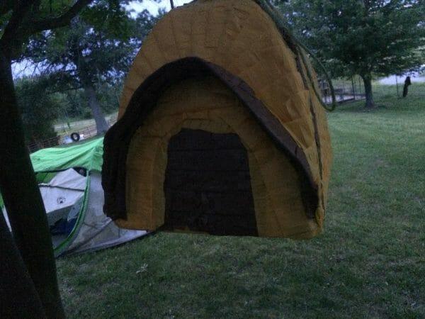 Camping Tent Pinata | Faithful Farmwife