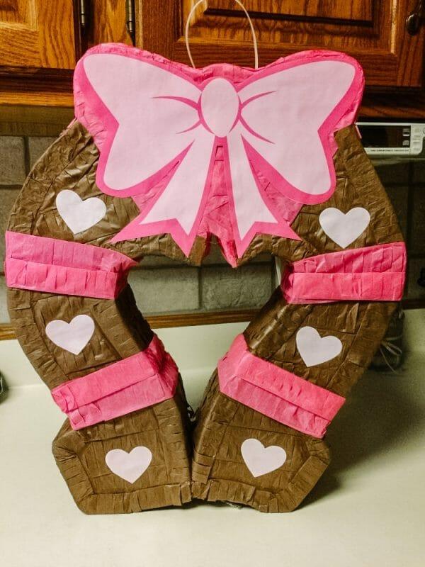 Horse Shoe Pinata | Horse Birthday Party Activities, Food, & Decorations | Faithful Farmwife