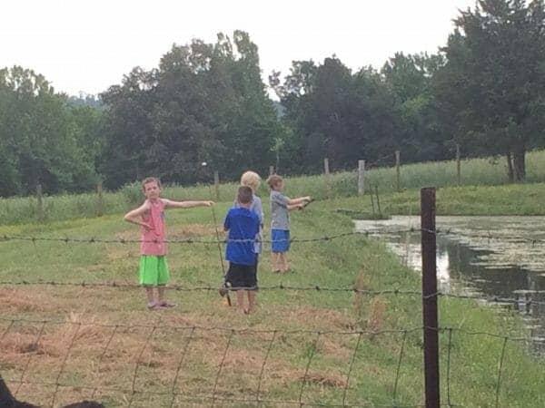 Boys Fishing | Faithful Farmwife