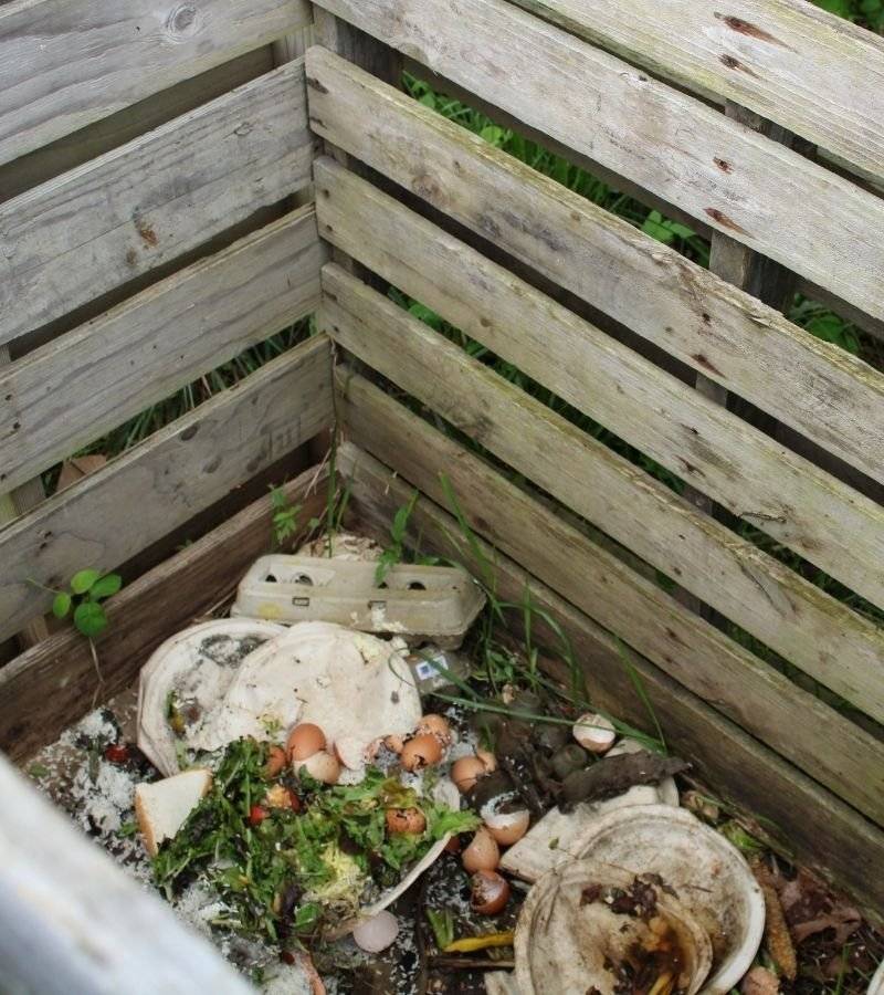 Pallet Compost Bin | 30+ Basic Homestead Skills You Need to Learn | Mama on the Homestead