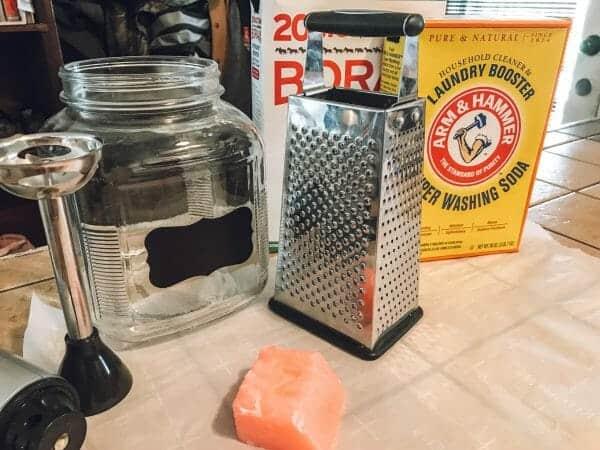 Laundry Powder Supplies | How to Make Money-Saving Homemade Laundry Powder | Faithful Farmwife