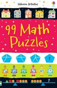 Usborne 99 Math puzzles | 29 of the Best Right-Brain Homeschool Math Resources | Faithful Farmwife