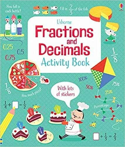 Fractions and Decimals Activity Book | 29 of the Best Right-Brain Homeschool Math Resources | Faithful Farmwife