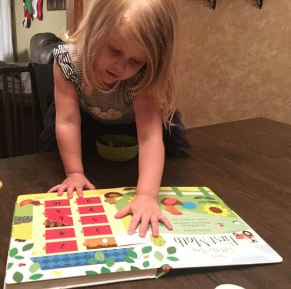 Lift-the-Flap Math Book | 29 of the Best Right-Brain Homeschool Math Resources | Faithful Farmwife