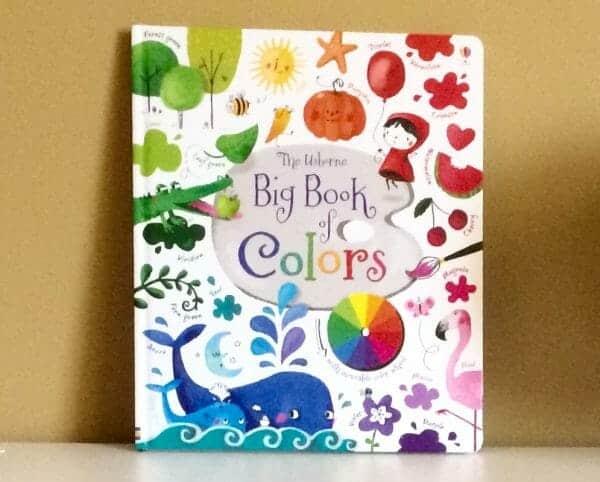 Usborne Big Book of Colors | Faithful Farmwife