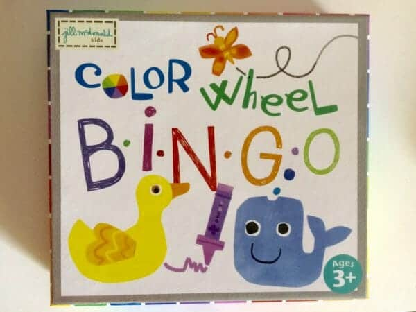 Color Wheel Bingo | 53+ of the Best Rainbow Unit Study Resources | Faithful Farmwife