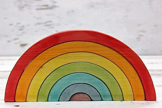 Grimm's Rainbow | 53+ of the Best Rainbow Unit Study Resources | Faithful Farmwife