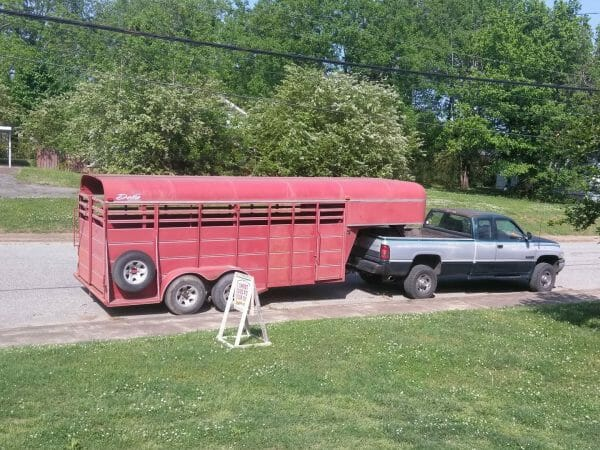 Truck & horse trailer |70+ Practical Homesteading Essentials You Need for Self-Sufficiency | Faithful Farmwife