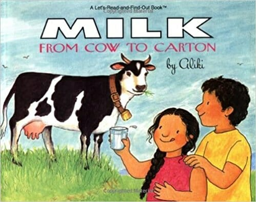Milk from Cow to Carton | 15 Best Children's Dairy Animal Books