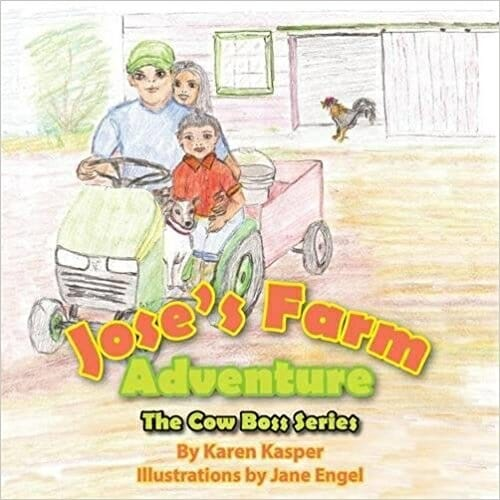 Jose's Farm Adventure | 15 Best Children's Dairy Animal Books