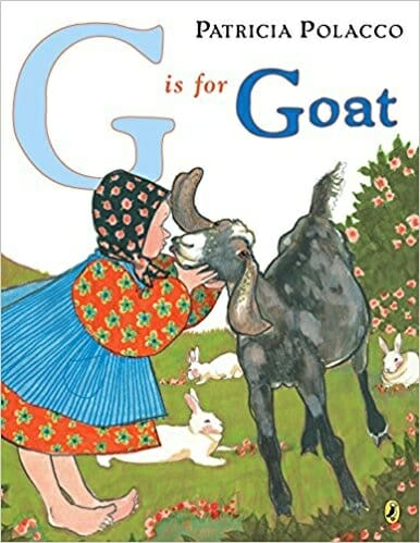 G is for Goat | 15 Best Children's Dairy Animal Books