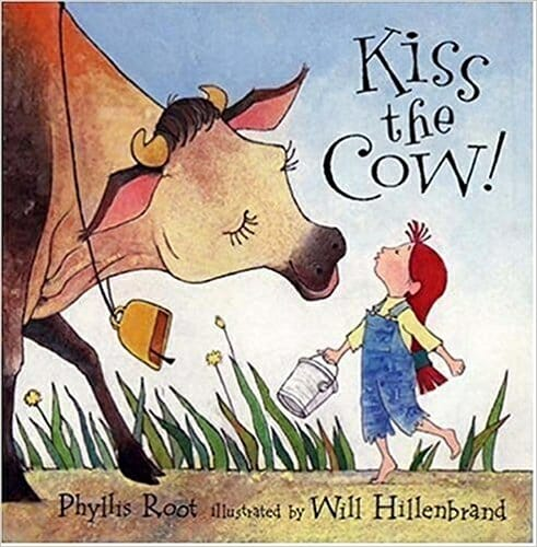 Kiss the Cow | 15 Best Children's Dairy Animal Books