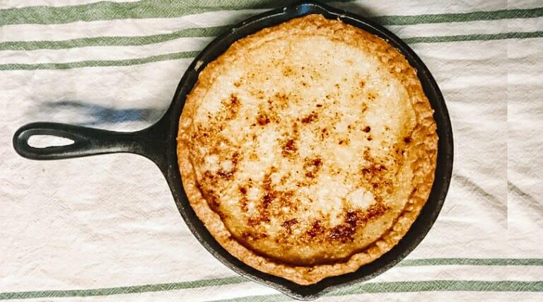 The Best Southern Sugar Cream Pie Recipe