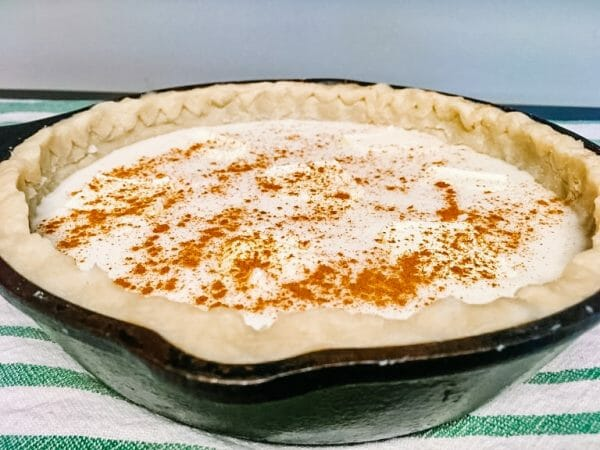 The Best Southern Sugar Cream Pie Recipe | Faithful Farmwife