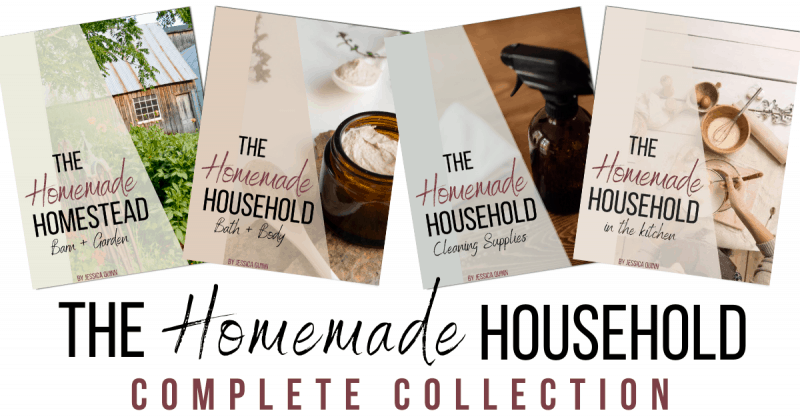 The Homemade Household: Homemade Recipes Collection | Faithful Farmwife