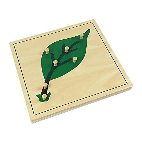 Montessori Leaf Puzzle | Faithful Farmwife