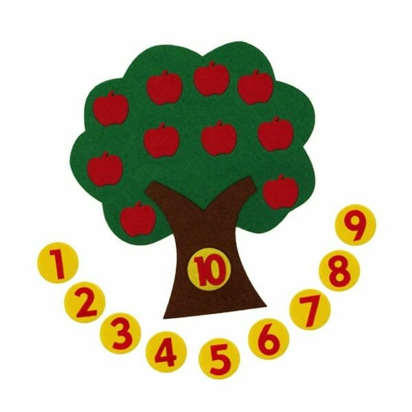 Apple Tree Math Game | Faithful Farmwife