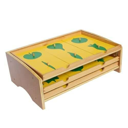 Montessori Leaf Cabinet | Faithful Farmwife