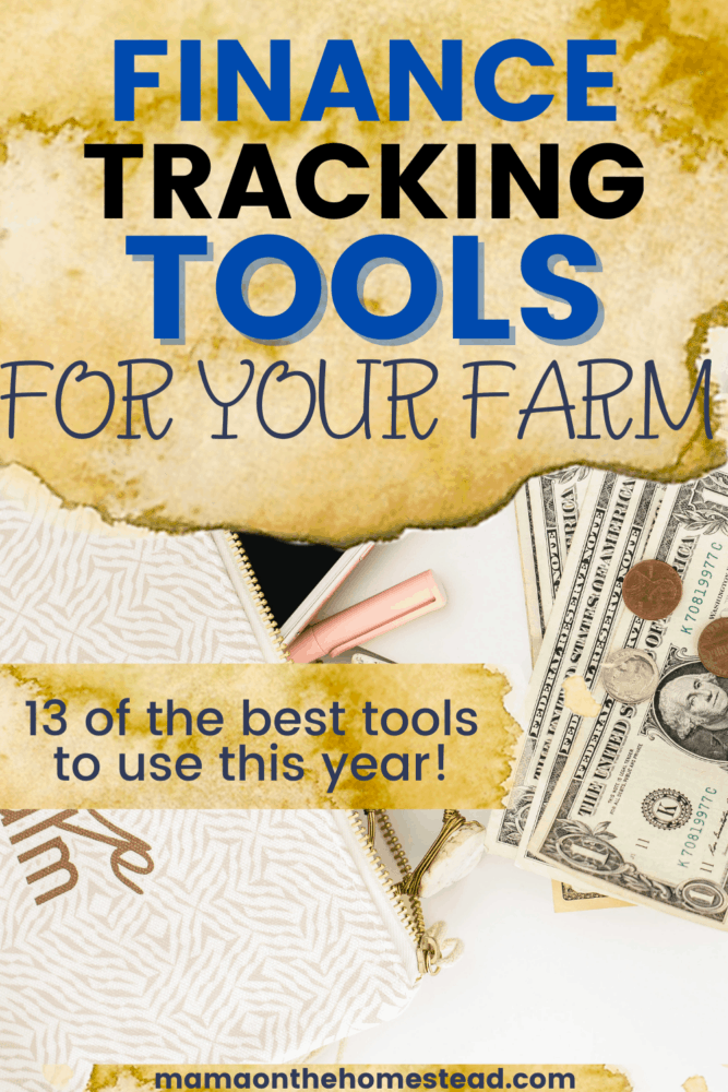 finance tracking tools for your farm pin