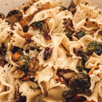 How to Make a Sweet & Savory Fall Pasta Salad