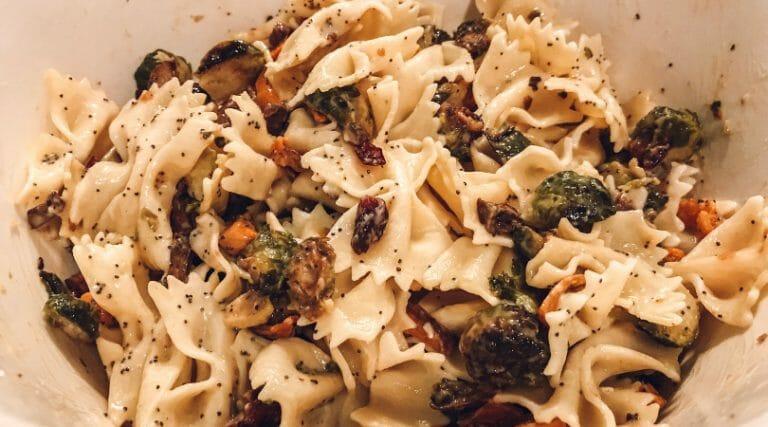 How to Make a Sweet & Savory Fall Pasta Salad