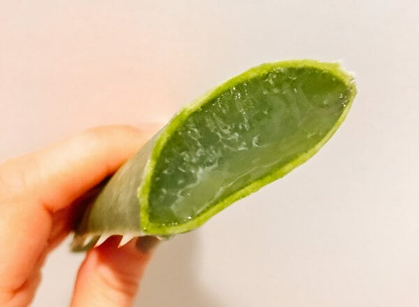 Homemade Hand Sanitizer with Aloe Vera | Faithful Farmwife