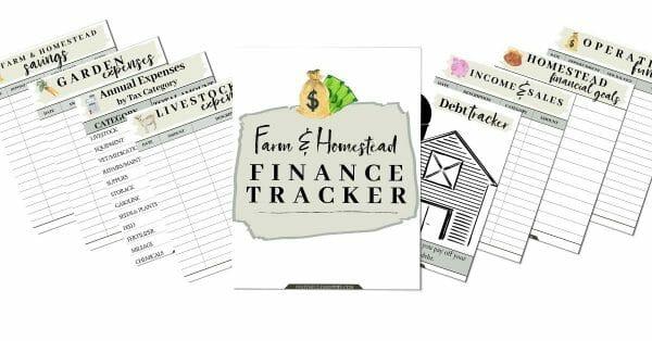 The Farm & Homestead Finance Tracker | Faithful Farmwife