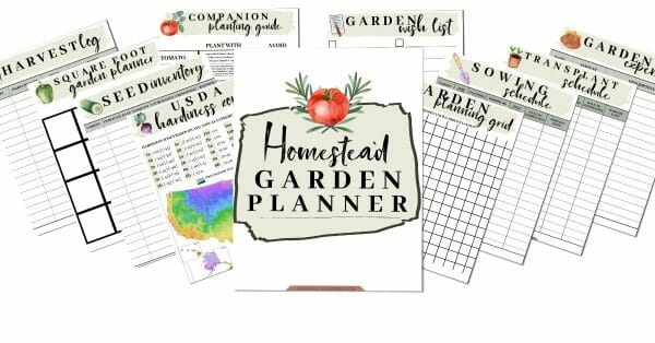 The Homestead Garden Planner | Faithful Farmwife