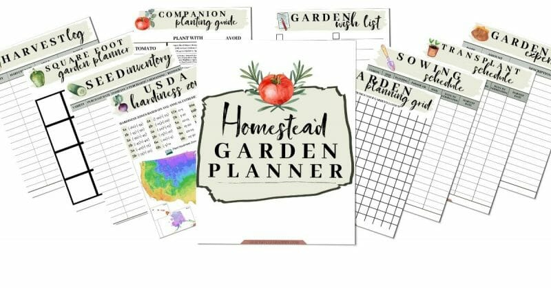 The Homestead Garden Planner Pages | Mama on the Homestead