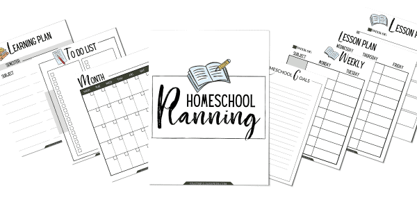 The Simplified Homeschool Planner | Homeschool Planning