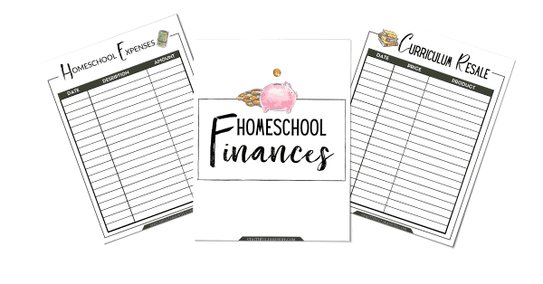 The Simplified Homeschool Planner | homeschool Finances