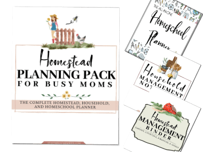 29 Best Homesteading Resources | The Homestead Planning Pack for Busy Moms | Faithful Farmwife