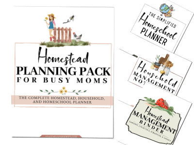 The Homestead Planning Pack for Busy Moms