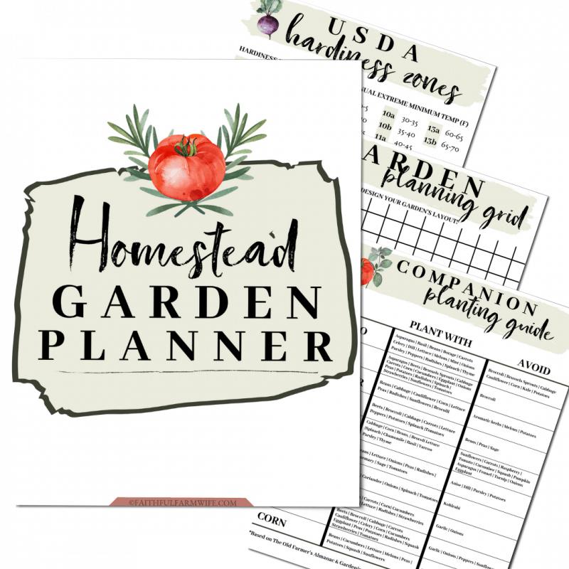 The Homestead Garden Planner