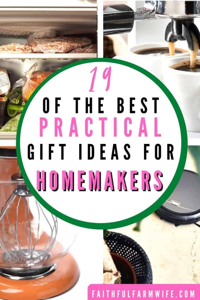 Gift Guide: 19 Practical Gifts for Homemakers | Faithful Farmwife