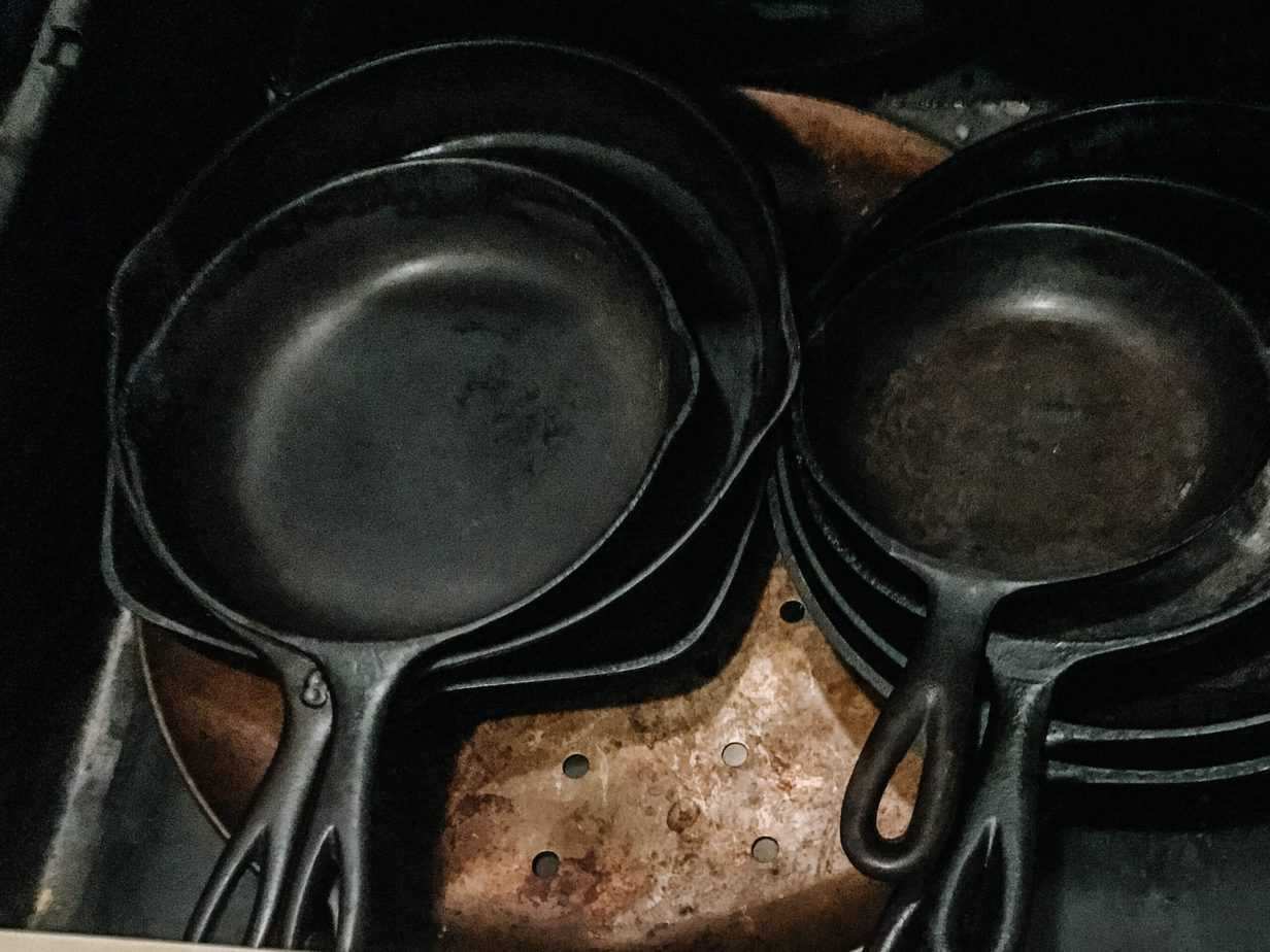 Cast Iron Skillets | 70+ Practical Homesteading Essentials You Need for Self-Sufficiency | Faithful Farmwife