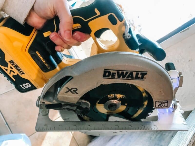 Circular Saw | 70+ Practical Homesteading Essentials You Need for Self-Sufficiency | Faithful Farmwife