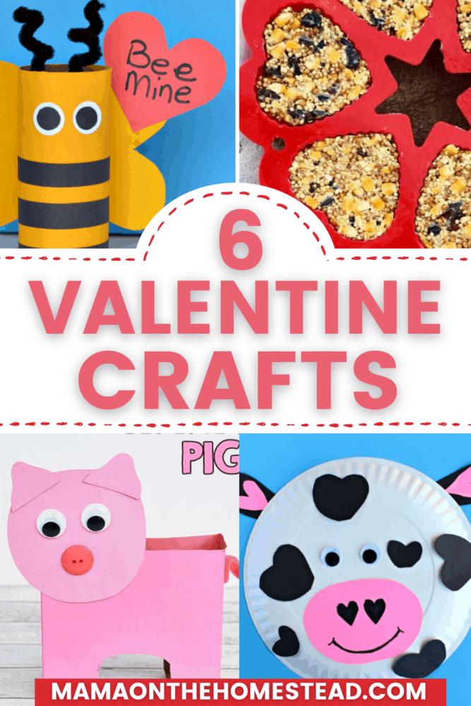 6 Valentine Crafts Pin