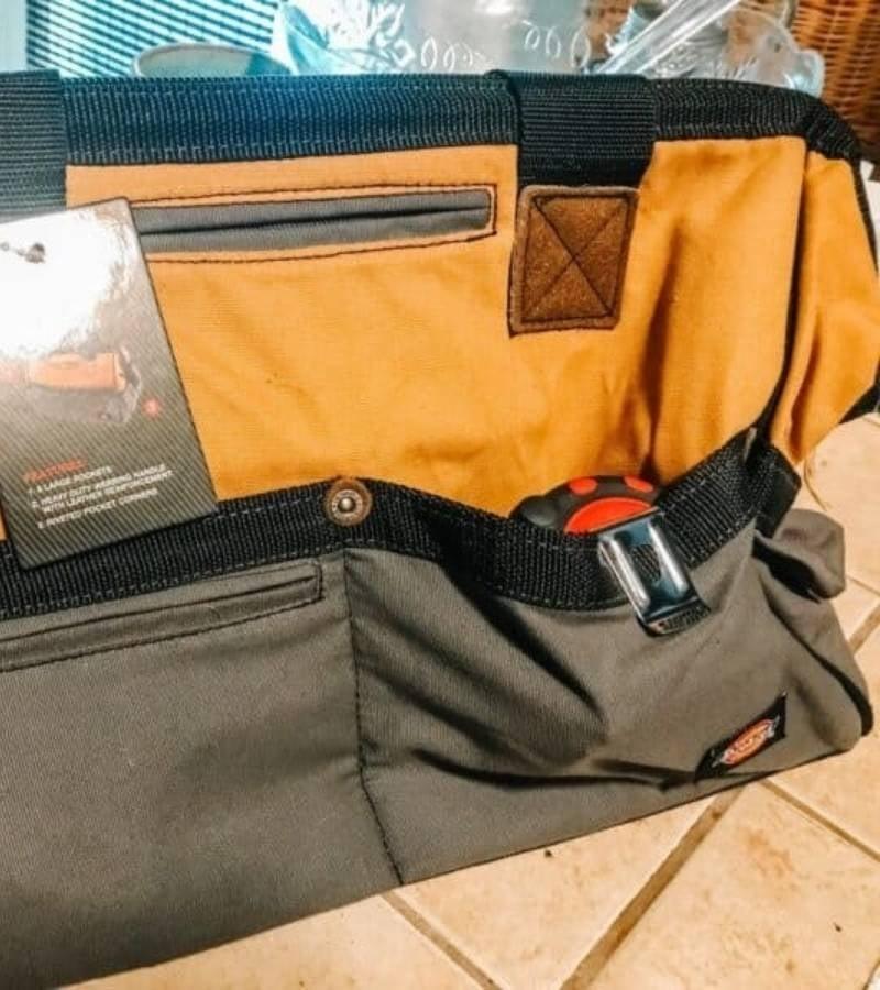 Canvas Tool Bag | Mama on the Homestead